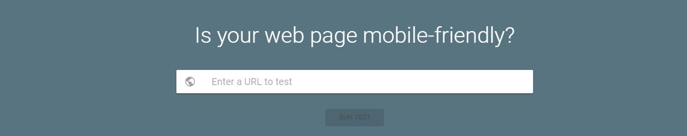 כלי של גוגל לבדיקת רמת ההתאמה של אתר למוביילs