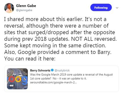 צילום מסך מהטוויטר של גלן גייב